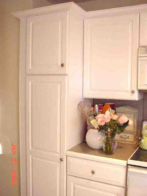 kitchen cabinets painted in New Rochelle, NY