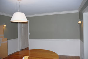 dining room interior painting Mamaroneck, NY