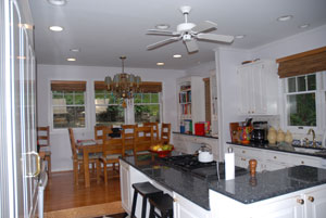 painting kitchen in Bronxville, NY