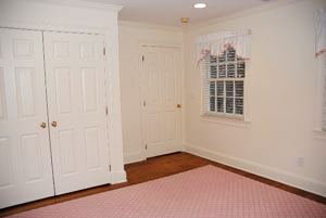 bedroom interior painting Fairfield County